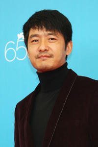 Guo Xiaodong at the photocall of