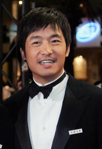Guo Xiaodong at the premiere of