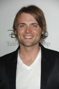 Seth Gabel at the Disney and ABC's