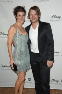Zoe McLellan and Seth Gabel at the Disney and ABC's