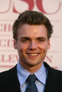 Seth Gabel at the 75th diamond jubilee celebration of USC (University of Southern California) School of Cinema-television.