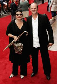 Tim McInnerny and guest at the UK premiere of