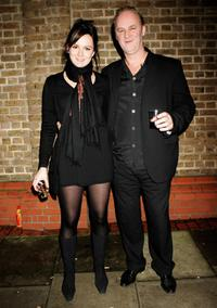 Rachael Stirling and Tim McInnerny at the after party of