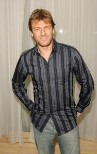 Sean Bean at the aftershow party Premiere of