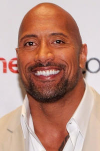 Dwayne Johnson at CinemaCon in Las Vegas.