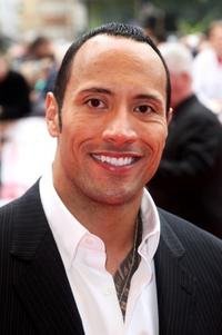 Dwayne Johnson at the UK Charity premiere of