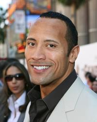Dwayne Johnson at the Hollywood premiere of