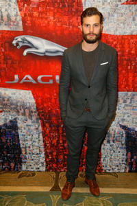Jamie Dornan at the BAFTA Los Angeles TV Tea Party presented By Jaguar and Mulberry in California.