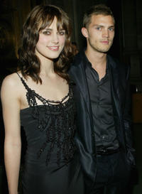 Keira Knightley and Jamie Dornan at the after-party World premiere of