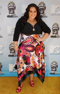 Nikki Blonsky at the 17th Annual MTV Movie Awards.