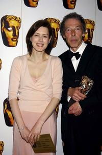 Gina McKee and Mike O'Neill at the British Academy Television Craft Awards.