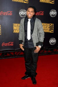 Chris Brown at the 2007 American Music Awards in L.A.