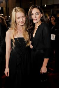 Mia Wasikowska and Alexa Davalos at the 2008 AFI FEST Closing Night Gala screening of