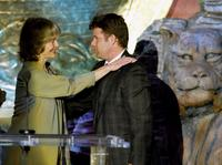 Virginia McKenna and Sean Astin at the 18th Annual Genesis Awards.