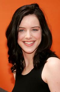 Michelle Ryan at the NBC Upfronts.