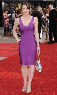 Michelle Ryan at the world premiere of
