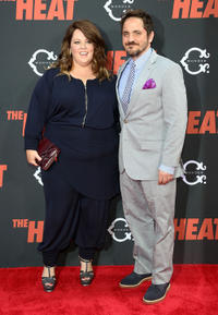 Melissa McCarthy and Ben Falcone at the New York premiere of