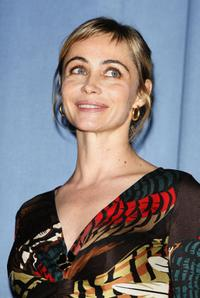 Emmanuelle Beart at the premiere of