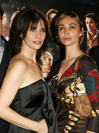 Emmanuelle Beart and Geraldine Pailhas at the premiere of