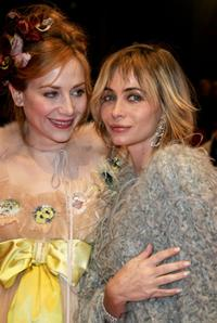 Emmanuelle Beart and Julie Depardieu at the premiere of the movie