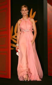 Emmanuelle Beart at the Palme d'Or Award Ceremony at the 59th International Cannes Film Festival.