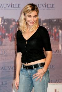 Emmanuelle Beart at the photocall of