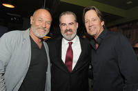 Corbin Bernsen, Alex Kendrick and Kevin Sorbo at the premiere of