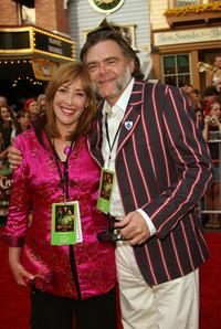 Phyllis Logan and Kevin McNally at the world premiere of