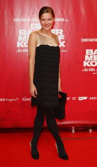 Hannah Herzsprung at the Berlin premiere of