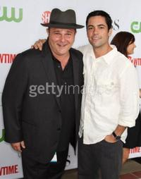 Jeremy Ratchford and Danny Pino at the CBS, CW, CBS Television Studio and Showtime TCA party.