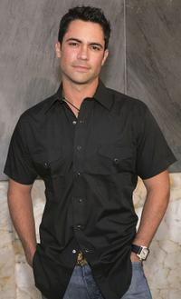 Danny Pino at the CBS Stars party.