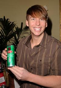 Jack McBrayer at the Pre-Golden Globes DPA Gifting Lounge.
