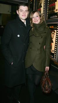 Sam Riley and Alexandra Maria Lara at the Berlin premiere of