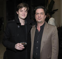 Sam Riley and filmmaker Roman Coppola at the California premiere of