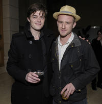 Sam Riley and Ben Foster at the California premiere of
