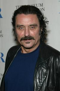 Ian McShane at the 22nd Annual William S. Paley Film Festival screening of