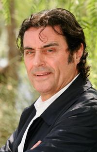 Ian McShane poses during a photo call at the 45th Television Festival.