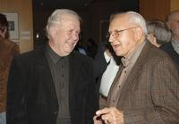 Ned Beatty and Milton Burrow at the 30th Anniversary Screening of