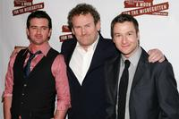 Colm Meaney, Eugene O'Hare and Billy Carter at the after party for the opening night of