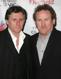 Colm Meaney at the benefit evening for London's famed Old Vic Theatre.
