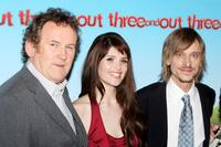Colm Meaney, Gemma Arterton and Mackenzie Crook at the world charity premiere of
