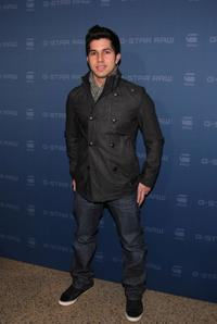 Walter Perez at the G Star Fall 2009 fashion show during the Mercedes-Benz Fashion Week.