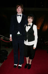Tim Rogers and Bojana Novakovic at the 2009 Helpmann Awards Sydney Opera House.