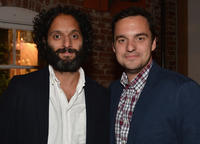 Jason Mantzoukas and Jake Johnson at the California premiere of
