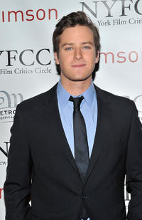 Armie Hammer Jr. at the 2010 New York Film Critics Circle Awards.