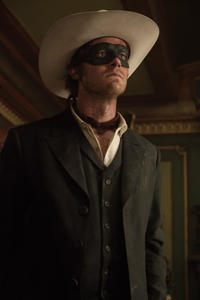 Armie Hammer as The Lone Ranger in