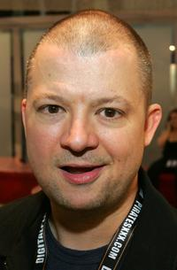 Jim Norton at the Adult Video News Adult Entertainment Expo.