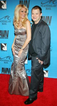 Jessica Drake and Jim Norton at the 24th Annual Adult Video News Awards Show.