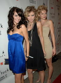 Actors/sisters Rachael McCord, AnnaLynne McCord and AnnaLynne McCord at the Season 5 Premiere Of