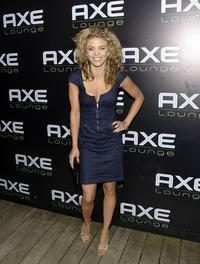 Annalynne McCord at the Fourth of July Celebration.